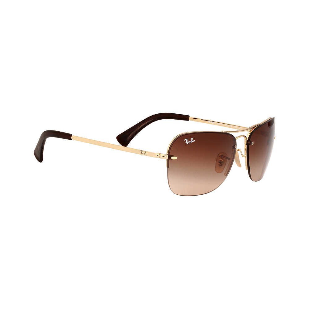 8926b0ef06 Ray-Ban Metal Frame Brown Gradient Lens Unisex Sunglasses RB3541 ...