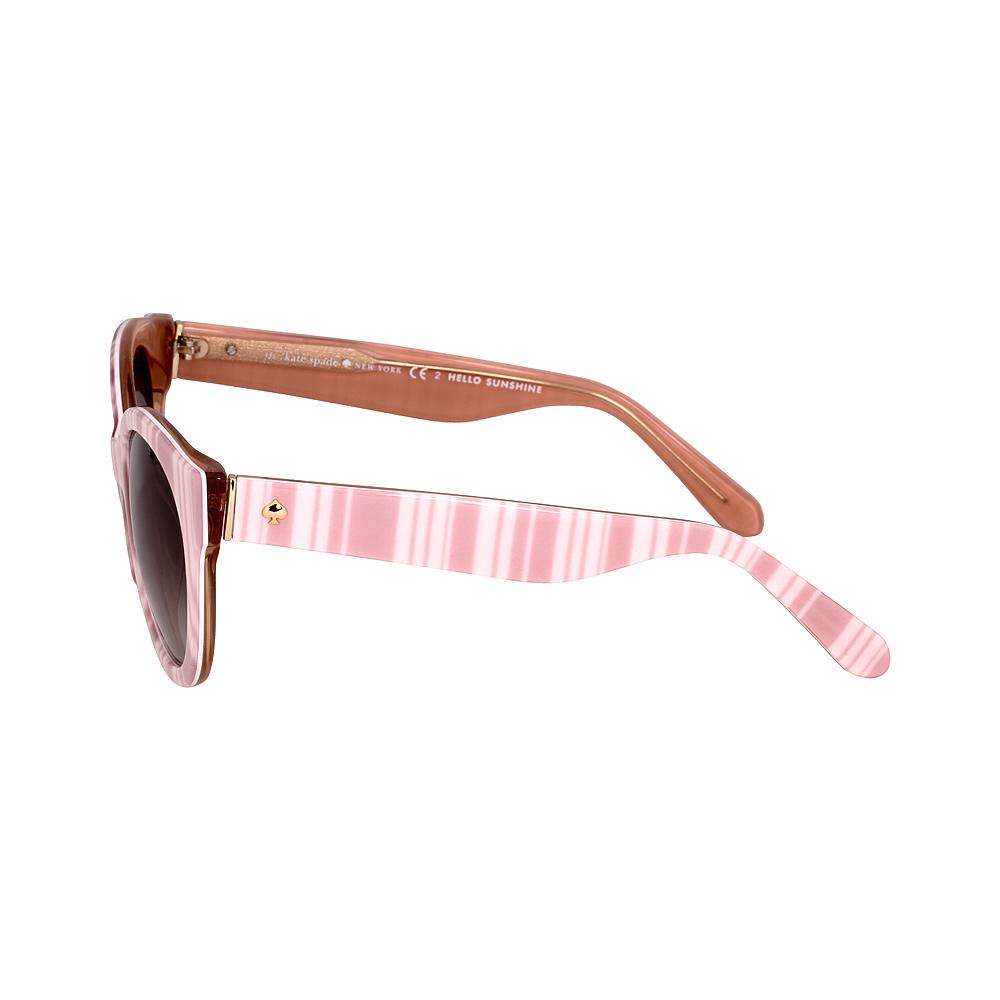 41eb29a5bd9e Kate Spade Melly Acetate Frame Grey Gradient Lens Ladies Sunglasses  MELLYSQGRF85321135