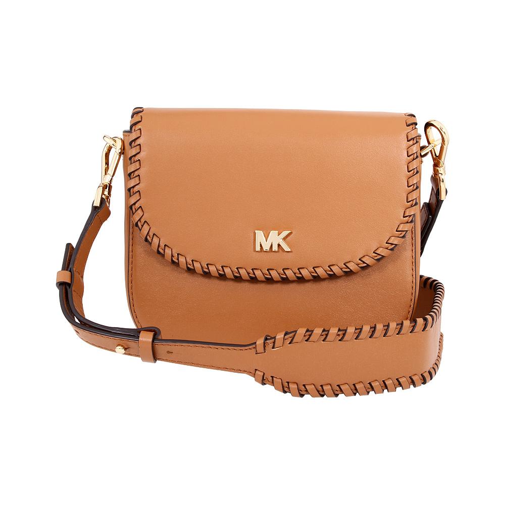 8e52a5c016e3 Michael Kors Ladies Whipstitched Acorn Leather Saddle Bag 32F8GF5C8O203