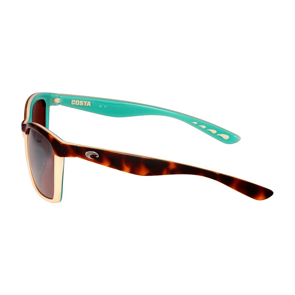 516613d5b6ef2 Costa Anaa Plastic Frame Copper Silver Mirror Lens Ladies Sunglasses  ANA105OSCP