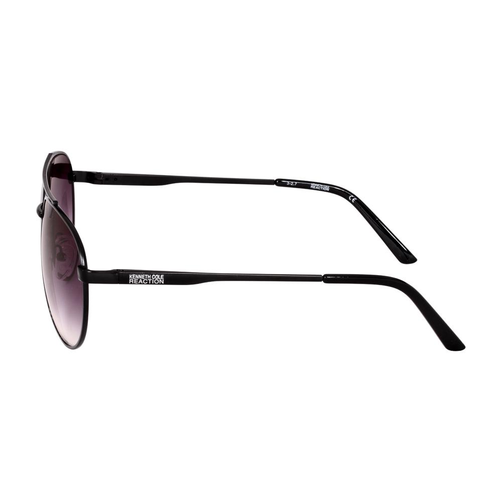 Kenneth Cole Reaction Metal Frame Bordeaux Mirror Lens Ladies Sunglasses KC12576