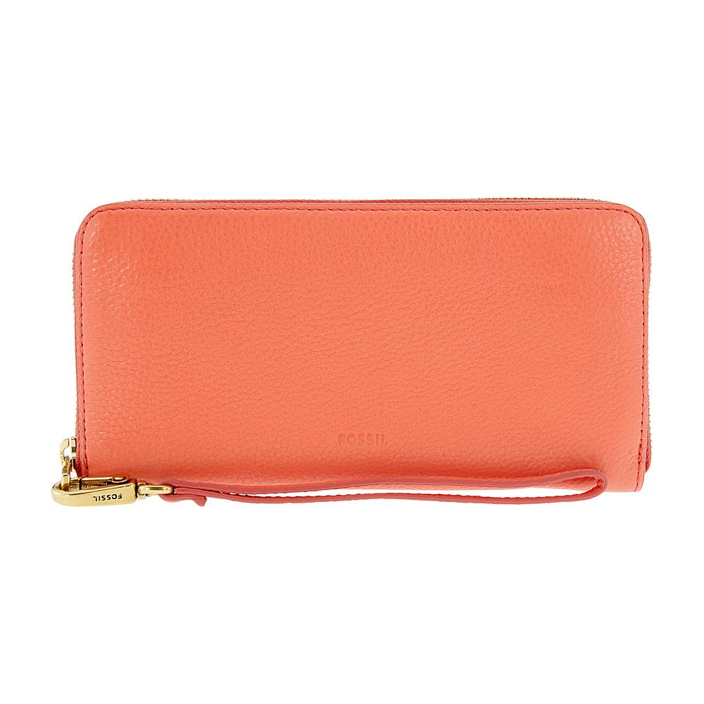 Fossil Emma Rfid Ladies Small Lava Leather Wallet Sl7150